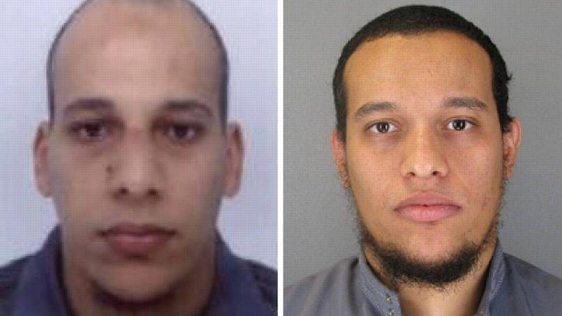 Saïd et Chérif Kouachi, deux frères de 32 et 34 ans originaires de Paris