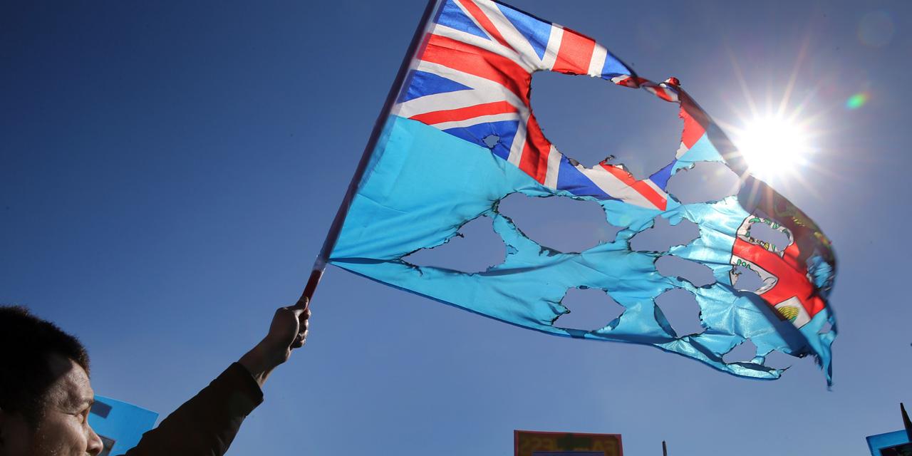 Les îles Fidji vont changer de drapeau