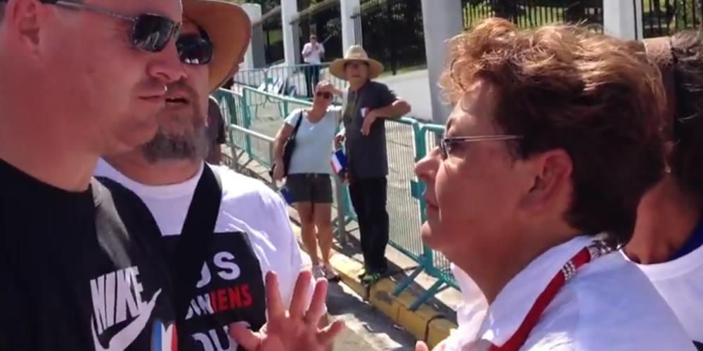Vidéo : Le FN viré de la manif