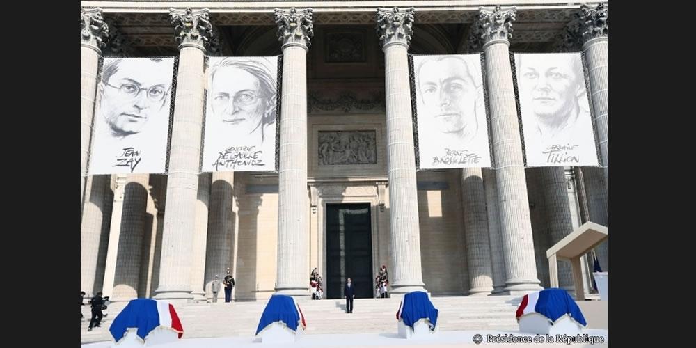 Quatre nouveaux panthéonisés