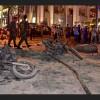 Bangkok touchée par une explosion à la bombe