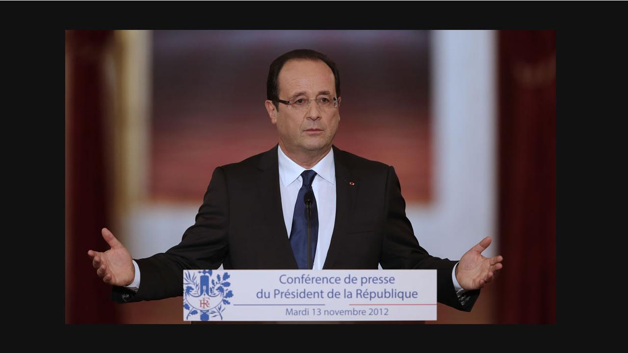 Hollande convoque l'histoire