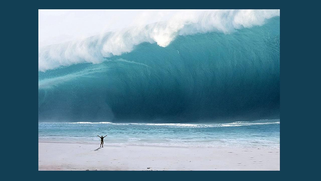 Situation de la Calédonie : avis de tsunami