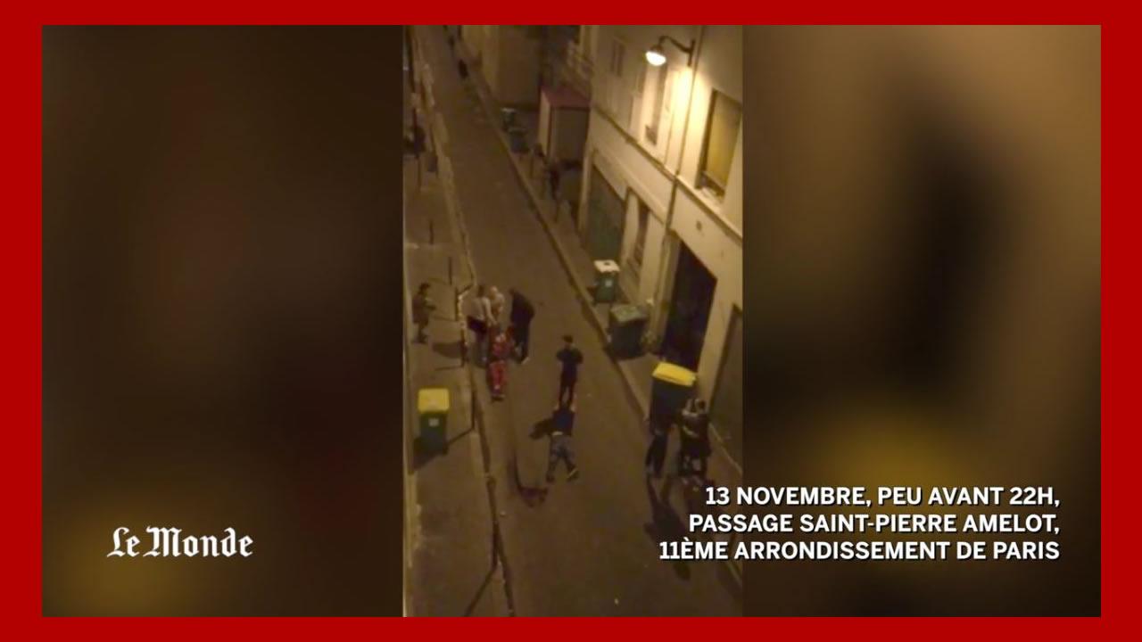 VIDEO : la fusillade au Bataclan