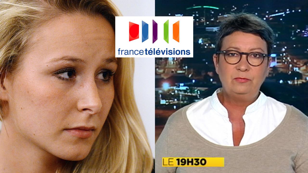 """Une journaliste de France Télévision traite Marion Le Pen de """"petite conne"""""""